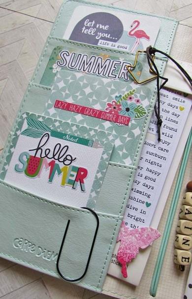 travelers notebook left